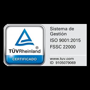 certificate ISO 9001:2015 - Hausmann